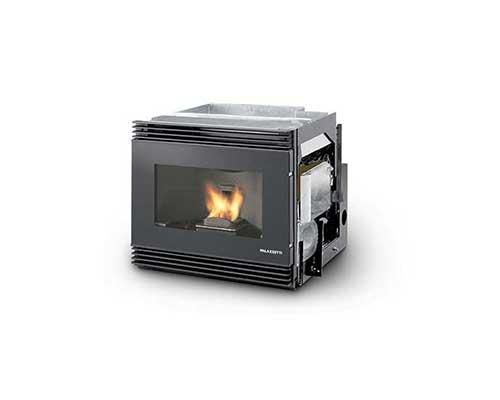 Palazzetti Da Insertimento Ventilazione Frontale Vetro Estetico